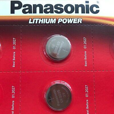 6 x Panasonic CR2025 3V Lithium Coin Cell Battery 2025