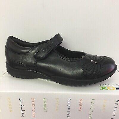 100/% Positive Reviews Geox J Shadow A Girls Black Patent School Shoe