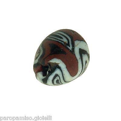 Early Islamic Glass Bead   (0430) 8