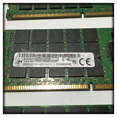 HP 384GB (16x24GB) 3Rx4 PC3L-10600R LV Memory Kit for BL460c Gen8 761501-B21