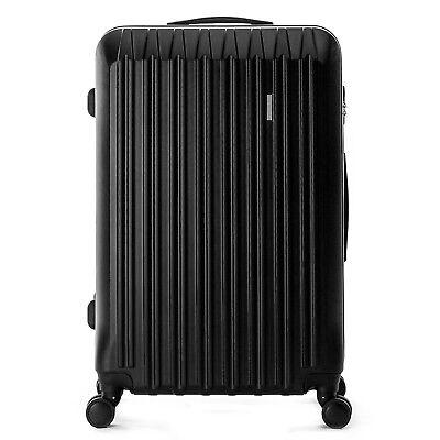 """4 Piece ABS Luggage Set Light Travel Case Hardshell Suitcase 16""""20""""24""""28"""" 4"""