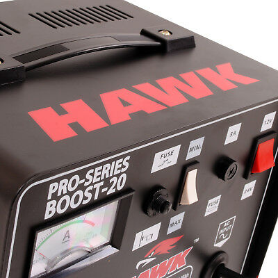 Hawk 230V 12V 24V 9A Car Van 4X4 Battery Fast Charge Power Booster Charger 3