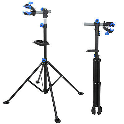 """Pro Bike 42"""" To 74"""" Repair Stand Adjustable w/ Telescopic Arm Cycle Bicycle Rack 10"""