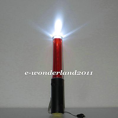 11 LED Safety Traffic 4-mode Control Red LED Light magnet wand baton magnet