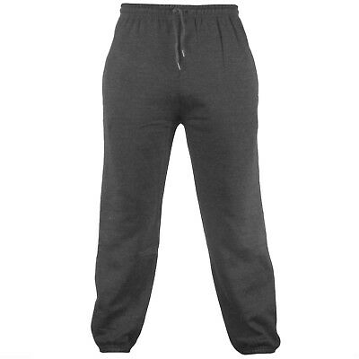 Men's Fleece Joggers Jogging Tracksuit Bottoms Elasticated Cuffed Trousers 3