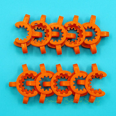 14# Lab Plastic Keck Clamp Clip for 14/23(14/20) Glass Joints 10PCS 2
