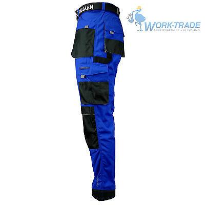 Arbeitshose Bundhose Arbeitskleidung Schutzkleidung Blau Schwarz Grau Gr. 46-62