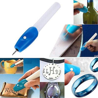 Handheld Engraving Etching Hobby Craft Pen Rotary Tool Kit For Wood Metal Glass 4