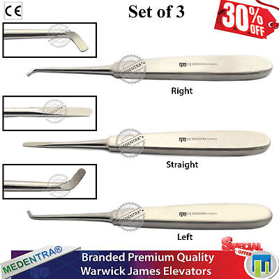 MEDENTRA® Dental Periosteal Surgical Tooth Gum Surgery Implant Instruments Kit 4