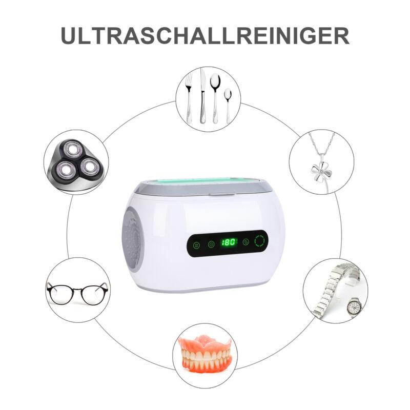 600ml Ultraschallreinigungsgerät Ultraschallreiniger Reiniger Ultrasonic Cleaner 3