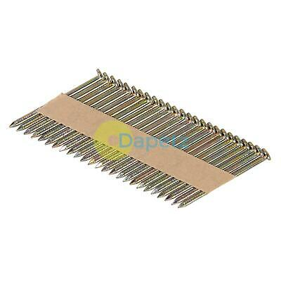 Collated Galvanised Ring Shank Framing Nails 34° 2.9mm x 65mm 400 Pack 4