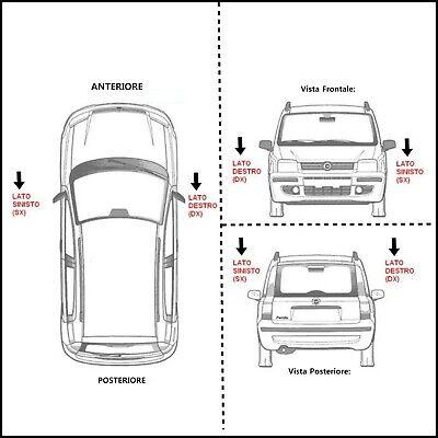 Indicatori Frecce Laterali a led Canbus Tuning Smart Fortwo Cabrio   Coupè 451 9