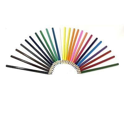 24pcs Colouring Pencils Set Drawing Painting Artist Kids Therapy Book Relax 4