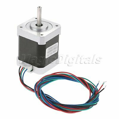 NEMA17 0.9° Degree 2-Phase 4-Wire 34mm Bipolar Stepper Motor For 3D Printer 5