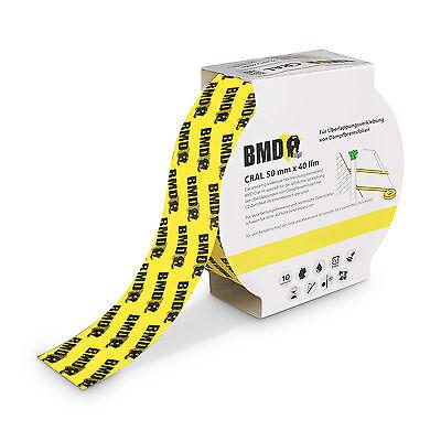 8x Klebeband gelb Dampfbremse Dampfsperre Dampfsperrfolie Dampfbremsfolie OSB