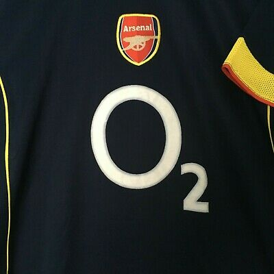 huge selection of 31550 9224c ARSENAL MENS O2 Thierry Henry 14 Barclay Card Premiership Short Sleeve  Jersey XL