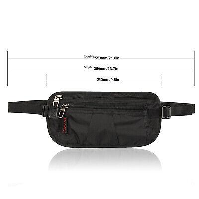 Slim Design Bumbag RFID Running Belt Water-proof Adjustable Waist Bag Travelling 8