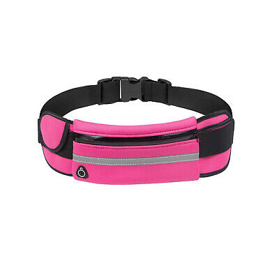 Running Belt Unisex Sport Jogging Phone Keys Mobile Money Bum Bag Waist Travel 5