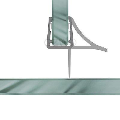 Duschdichtung Wasserabweiser Duschprofil Streifdichtung Schwall 5-8 mm, 20cm-2m 7