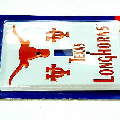 Single Light Switch Plate Covers Texas Longhorns Themed Collegiate Products 8