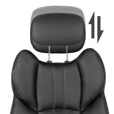 Office Chair Swivel Ergonomic Chair Foldable Armrests Computer Chair OBG65BK 8