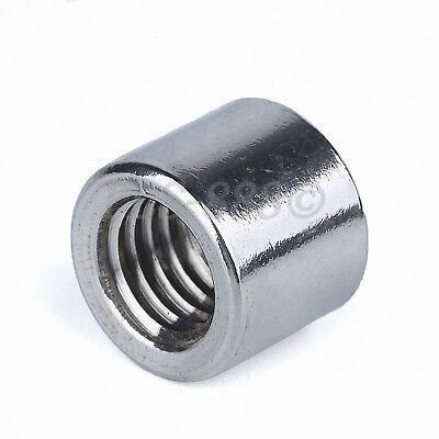 M3 to M16 Round Rod Bar Stud Connector Long Coupling Nuts - A2 304 Stainless 5