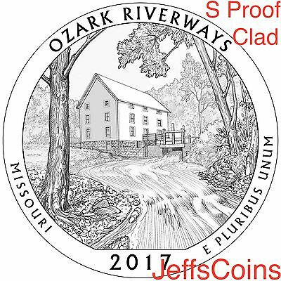 2018 S REVERSE Pictured Rocks Lakeshore 90% Silver Proof Park Quarter Michigan 7