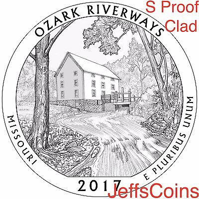 2019 S Frank Church River of No Returns Wilderness Area ID Quarter CLAD PROOF US 9