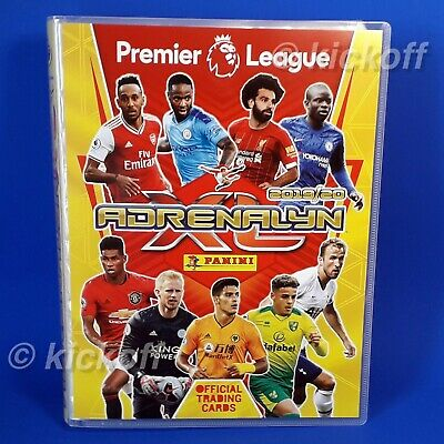 Panini Adrenalyn XL 2019-2020: Starter Pack. Binder and 26 cards. Premier League 2