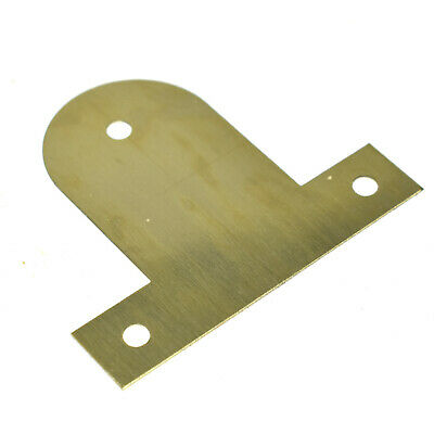 BENDABLE FIXING PICTURE PLATE BRASS PLATED HANGING BASKET FRAME MIRROR 25 - 45mm 4