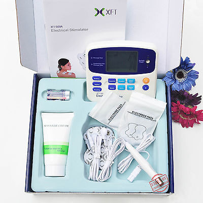 TENS Machine Massager Unit XFT320A +Acupuncture Pen w/Extra Pads BUNDLES Physio 2