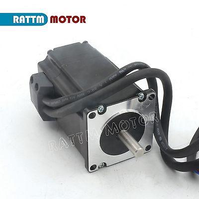 2x 2Phase 2NM Closed Loop Stepper Motor NEMA23 Drive Hybrid Servo Driver CNC【UK】 3