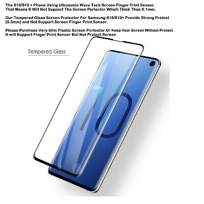 Samsung Galaxy S10 S10e S10 Plus Tempered Glass Screen Protector Film 5D Curve 5
