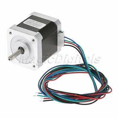 NEMA17 0.9° Degree 2-Phase 4-Wire 34mm Bipolar Stepper Motor For 3D Printer 6