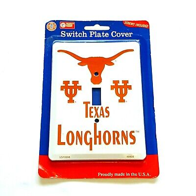 Single Light Switch Plate Covers Texas Longhorns Themed Collegiate Products 3