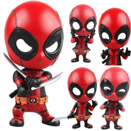 The Avengers Marvel Superheld Spiderman Deadpool Action Figur Figuren Kinder Toy 11