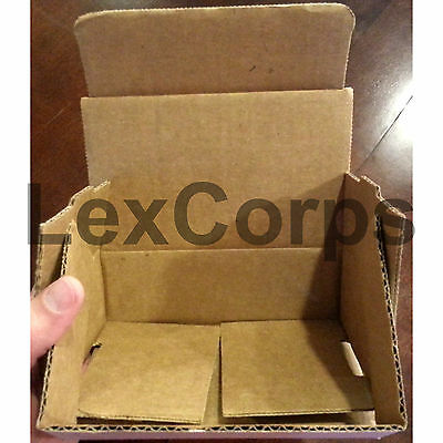 White Corrugated Mailers MANY SIZES 50 100 200 Shipping Packing Fold Box 5