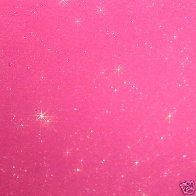 30 étoiles ROSE VIF1cmFlex thermocollant GLITTER PINK  hotfix