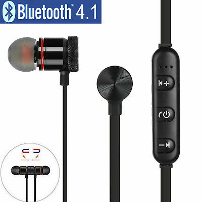 Auricolari Bluetooth Cuffie Magnetiche Sportive Wireless Stereo Xt-6 Fitness 7