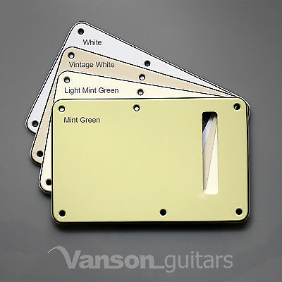 NEW Vanson Tremolo Cover Backplate to fit Fender® USA, MEX Stratocaster Strat®* 3