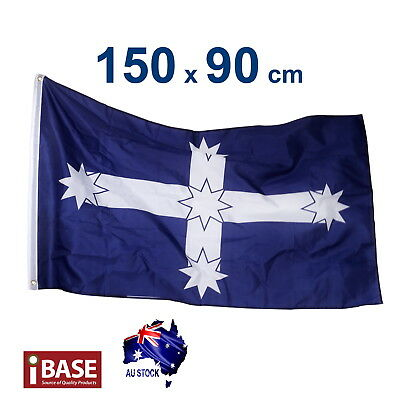 Eureka Stockade flag Southern Cross 150x90cm 5x3ft Australia Aussie 2