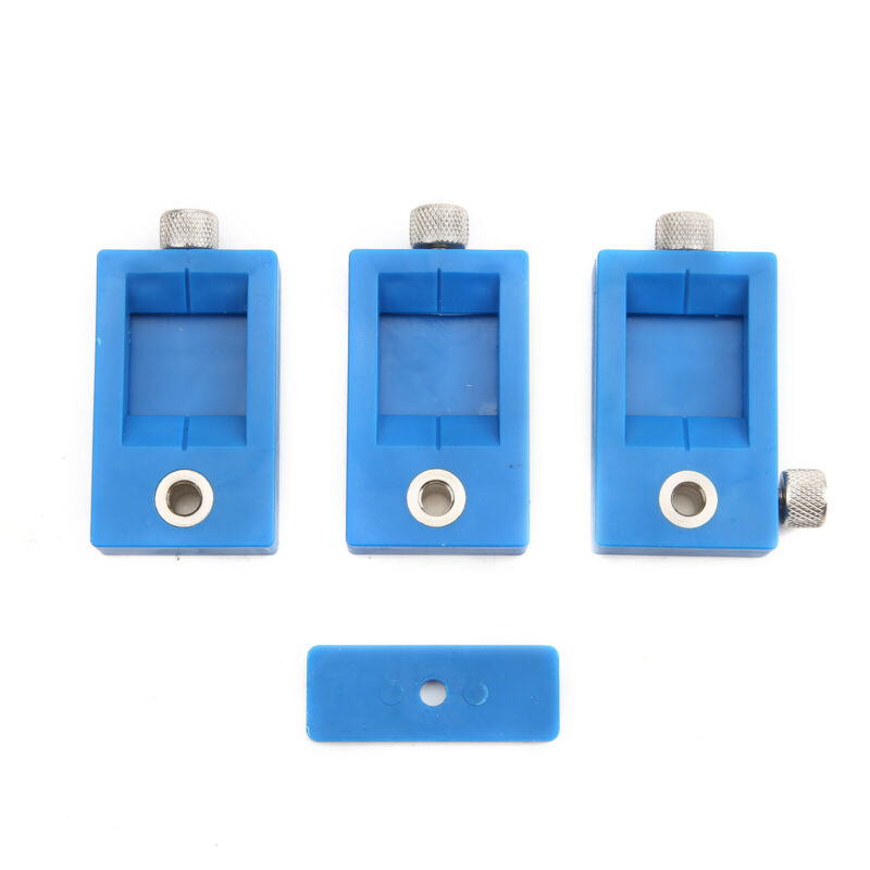 Hole Punch Jig Tool Drill Guide Sleeve for Cabinet Hardware Wood Drilling L/&6