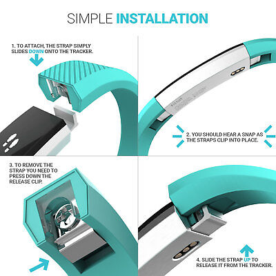 For Fitbit Alta & Hr Wrist Straps Wristbands, Replacement Accessory Watch Bands 5