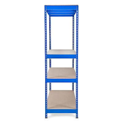 weitspannregal schwerlastregal lagerregal werkstattregal regal blau 4 xxl gr en eur 99 99. Black Bedroom Furniture Sets. Home Design Ideas