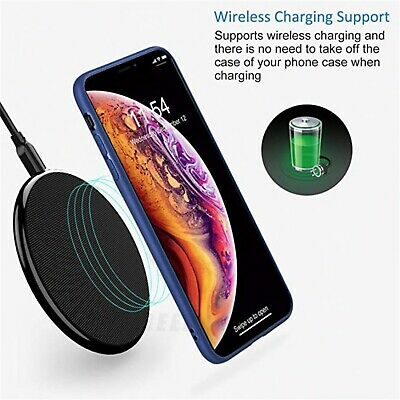 Matte Transparent Ultra-Thin Slim Case Cover Skin for iPhone X Xs/Max,11 Pro,8 3
