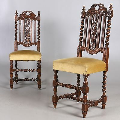 PAIR  ANTIQUES CHAIRS  Perfect condition 2