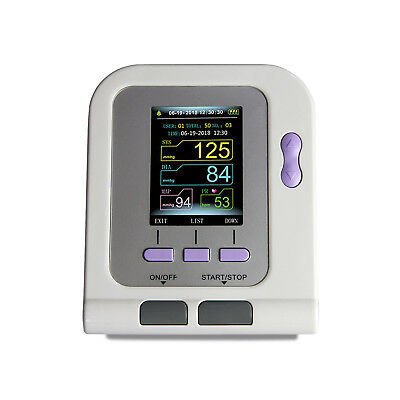 Pediatric infant desktop Electronic blood pressure monitor NIBP SPO2 color LCD 4