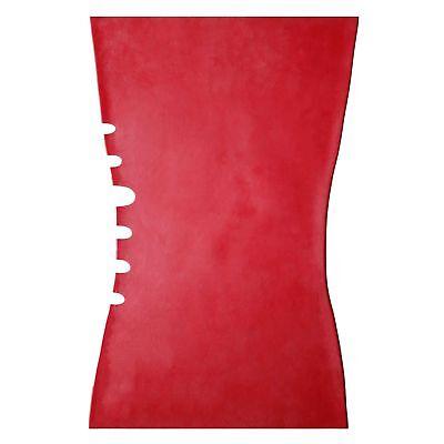 Sexy Latexkleid aus Gummi in der Farbe rot, Einheitsgröße 4