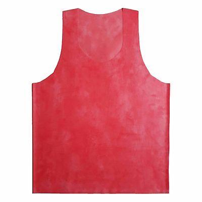 Latex Hemd aus Rubber in der Farbe rot, Einheitsgröße 7