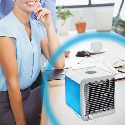 Portable Air Cooler Conditioner NEW Cool Cooling For Bedroom Mini Fan AU 4